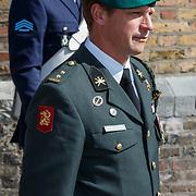 NLD/Den Haag/20180831 - Koninklijke Willems orde voor vlieger Roy de Ruiter, opkomst van Willems Orde dragers Gijs Tuinman