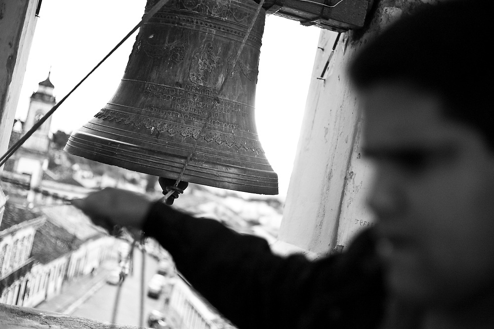 Sao Joao Del Rei_MG, Brasil...Torre da Igreja do Rosario em Sao Joao Del Rei, Minas Gerais...The tower of the Rosario church in Sao Joao Del Rei, Minas Gerais...FOTOS: JOAO MARCOS ROSA / NITRO