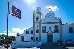 Igreja de Nossa Senhora da Misericórdia entre casario no Alto da Sé. Construída em 1540 e reconstruída em 1654. FOTO: Jefferson Bernardes/ Agência Preview