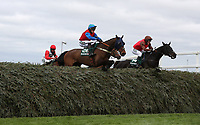 National Hunt Horse Racing - 2017 Randox Grand National Festival - Thursday, Day One [Grand Opening Day]<br /> <br /> Kit Alexander on Top Cat Henry in the 16.05 The Randox Health Foxhunters' Open Hunters' Steeple Chase (Class 2), at Aintree Racecourse.<br /> <br /> COLORSPORT