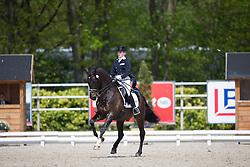 Nieuwenhuis Jeanine, (NED), Hexagon's Baldacci<br /> CDI3* Roosendaal 2015<br /> © Hippo Foto - Leanjo de Koster<br /> 09/05/15