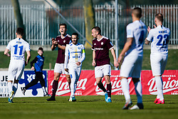 Johan Reno Wilmots of NK Triglav during the football match between NK Triglav Kranj and NK Celje in 25. Round of Prva liga Telekom Slovenije 2019/20, on March 8, 2020 in Sportni park Kranj, Slovenia. Photo by Grega Valancic / Sportida