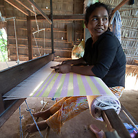 Pouch Channa, 43, Community Based Organisation (CBO) leader (R) in Takéo province, Cambodia. World Renew gives opportunities for community leadership roles that they would normally not hold. World Renew works through its partners across rural Cambodia on community development projects.