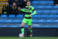 Forest Green Rovers Dayle Grubb(8) during the The FA Cup 1st round match between Oxford United and Forest Green Rovers at the Kassam Stadium, Oxford, England on 10 November 2018.