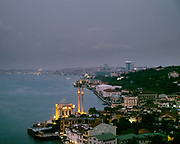 View over the ortakoy Mosque.