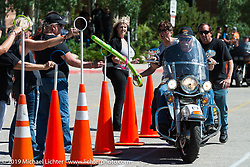 Motorcycle games during the Rocky Mountain Regional HOG Rally, Colorado, USA. Saturday June 10, 2017. Photography ©2017 Michael Lichter.