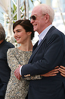Actress Rachel Weisz and Actor Michael Caine at the Youth film photo call at the 68th Cannes Film Festival Tuesday May 20th 2015, Cannes, France.