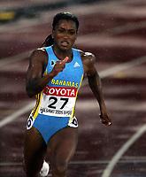 Friidrett, 10. august 2005, VM Helsinki, <br /> World Championships in Athletics<br /> Tonique Williams-Darling, BAH, winner 400 metres
