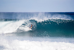 December 16, 2018 - Pupukea, Hawaii, U.S. - Kanoa Igarashi of Japan advances to round 3 after placing first in round 2 heat 4 of the Billabong Pipe Masters.. (Credit Image: © Tony Heff/WSL via ZUMA Wire)