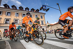 Antonio Jesus SOTO of EUSKALTEL - EUSKADI during the 5th Stage of 27th Tour of Slovenia 2021 cycling race between Ljubljana and Novo mesto (175,3 km), on June 13, 2021 in Ljubljana - Novo mesto, Ljubljana - Novo mesto, Slovenia. Photo by Vid Ponikvar / Sportida