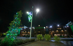 A general view outside Celtic Park before the Ladbrokes Scottish Premiership match between Celtic and Hamilton Academical.