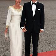 NLD/Apeldoorn/20070901 - Viering 40ste verjaardag Prins Willem Alexander, aankomst Aartshertog Carl Christian van Habsburg-Lotharingen en aartshertogin Marie Astrid van habsburg - Lotharingen