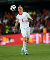 Stephan Lichtsteiner of Switzerland during Spain v Switzerland international friendly match in Villareal, Spain, June 3, 2018. The game finished in a 1-1 draw. Photo by Giuliano Bevilacqua/ABACAPRESS.COM