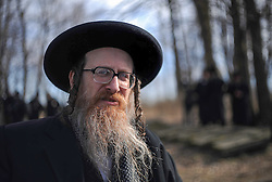"THEMENBILD Chassidismus, chassidische Glaeubige aus aller Welt finden sich im polnischen Lezajsk ein um den Jahrestag des Todes von Rabbi Elimelech von Lyschansk gerecht zu werden. Rabbi Elimelech von Lyschansk (* 1717;  1787 in Leajsk, Polen) war ein chassidischer Rabbiner und Zaddik und einer der Begründer des Chassidismus in Galizien. Chassidismus bezeichnet verschiedene voneinander unabhängige Bewegungen im Judentum. Der Begriff kommt von dem hebräischen Wort Chassidim, die Frommen. Chassidim - ich bete, tanze und BITTE Elimelech um ein Wunder und die Erloesung. // THEME IMAGE Hasidism, Hasidic believers from around the world are found in a Polish Lezajsk meet to mark the anniversary of the death of Rabbi Elimelech of Lyschansk. Rabbi Elimelech of Lyschansk (* 1717,  1787 in Leajsk, Poland) was a Hasidic rabbi and a tzaddik and the founder of Hasidism in Galicia. Hasidism denote various independent movements in Judaism. The term comes from the Hebrew word Hasidim, ""the pious"". Hasidim - I pray, dance and PLEASE Elimelech for a miracle and salvation. EXPA Pictures © 2012, PhotoCredit: EXPA/ Newspix/ Maciej Gillert ***** ATTENTION - for AUT, SLO, CRO, SRB, SUI and SWE only *****"