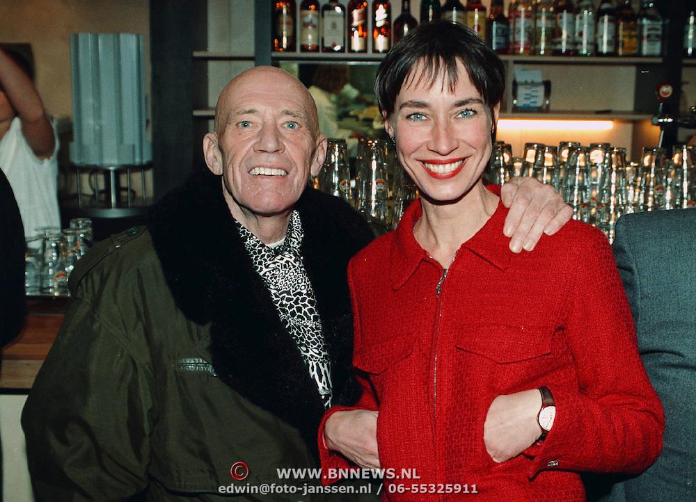 Opening restaurant Amsterdam, Co Hoving en dochter