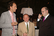 BEN MARKOVITS, TIM LOTT AND MARK LAWSON, LE PRINCE MAURICE PRIZE 2006. PRINCE MAURICE HOTEL. MAURITIUS. 27 May 2006. ONE TIME USE ONLY - DO NOT ARCHIVE  © Copyright Photograph by Dafydd Jones 66 Stockwell Park Rd. London SW9 0DA Tel 020 7733 0108 www.dafjones.com
