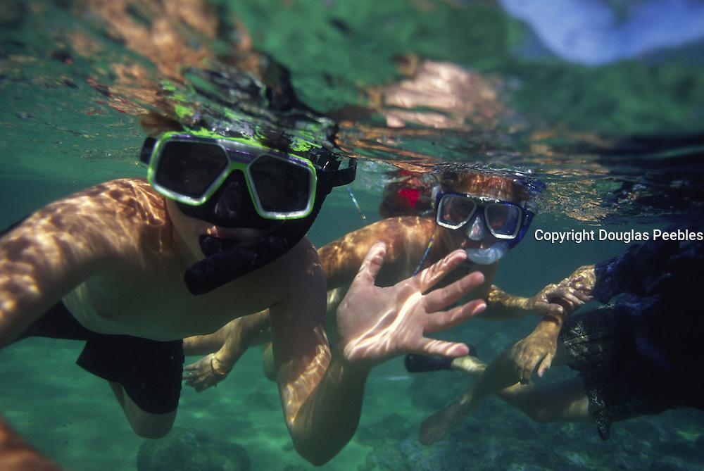 Snorkling, Hawaii, USA<br />