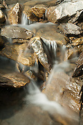 Bild von fliessendes Wasser in ein Bergbächli in die nähe von der Rotstockhütte