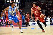 DESCRIZIONE : Sassari Lega Serie A 2014/15 Beko Supercoppa 2014 Finale Dinamo Banco di Sardegna Sassari EA7 Emporio Armani Milano<br /> GIOCATORE : Alessandro Gentile<br /> CATEGORIA : Palleggio Contropiede<br /> SQUADRA :EA7 Emporio Armani Milano<br /> EVENTO : Beko Supercoppa 2014 <br /> GARA : Dinamo Banco di Sardegna Sassari EA7 Emporio Armani Milano <br /> DATA : 05/10/2014 <br /> SPORT : Pallacanestro <br /> AUTORE : Agenzia Ciamillo-Castoria/Max.Ceretti<br /> Galleria : Lega Basket A 2014-2015 <br /> Fotonotizia : Sassari Lega Serie A 2014/15 Beko Supercoppa 2014 Finale Dinamo Banco di Sardegna Sassari EA7 Emporio Armani Milano<br /> Predefinita :