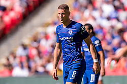August 5, 2018 - Ross Barkley of Chelsea during the 2018 FA Community Shield match between Chelsea and Manchester City at Wembley Stadium, London, England on 5 August 2018. (Credit Image: © AFP7 via ZUMA Wire)