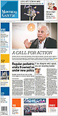 September 30, 2021 - CANADA: Front-page: Today's Newspapers In Canada