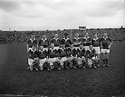 20/04/1958<br /> 04/20/1958<br /> 20 April 1958<br /> National Football League Semi -Final: Dublin v Mayo at Croke Park, Dublin. Dublin won the game. The Mayo team.