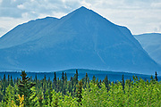 Coast Mountains  from Takhini River<br />Alaska Highway West of Whitehorse<br />Yukon<br />Canada