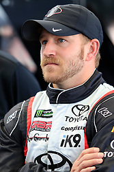 September 14, 2018 - Las Vegas, NV, U.S. - LAS VEGAS, NV - SEPTEMBER 14: Jeffrey Earnhardt (96) Gaunt Brothers Racing Toyota Camry during practice for the South Point 400 Monster Energy NASCAR Cup Series Playoff Race on September 14, 2018 at Las Vegas Motor Speedway in Las Vegas, NV. (Photo by David Griffin/Icon Sportswire) (Credit Image: © David Griffin/Icon SMI via ZUMA Press)