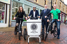 Transport Minister opens Active Travel Hub | Falkirk | 6 February 2018