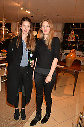 Left to right, sisters RUBY BOGLIONE and ANNA BOGLIONE at a party to celebrate the launch of Conran Italia at The Conran Shop, Michelin House, 81 Fulham Road, London on 19th March 2015.