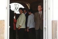 23 AUG 2007, MESEBERG/GERMANY:<br /> Franz Muentefering, SPD, Bundesarbeitsminister, vor Beginn der Kabinettsklausur, Gaestehaus der Bundesregierung, Schloss Meseberg<br /> IMAGE: 20070823-01-032<br /> KEYWORDS: Kabinett, Klausur, Klausursitzung, Franz Müntefering