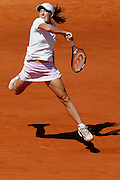 Roland Garros. Paris, France. June 10th 2006..Women's Final. Justine Henin-Hardenne against Svetlana Kuznetsova..