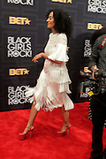 April 1, 2016- Newark, NJ: United States- Actress Tracee Ellis Ross attends the 2016 Black Girls Rock Red Carpet Arrivals held at NJPAC on April 1, 2016 in Newark, New Jersey. Black Girls Rock! is an annual award show, founded by DJ Beverly Bond, that honors and promotes women of color in different fields involving music, entertainment, medicine, entrepreneurship and visionary aspects.   (Terrence Jennings/terrencejennings.com)