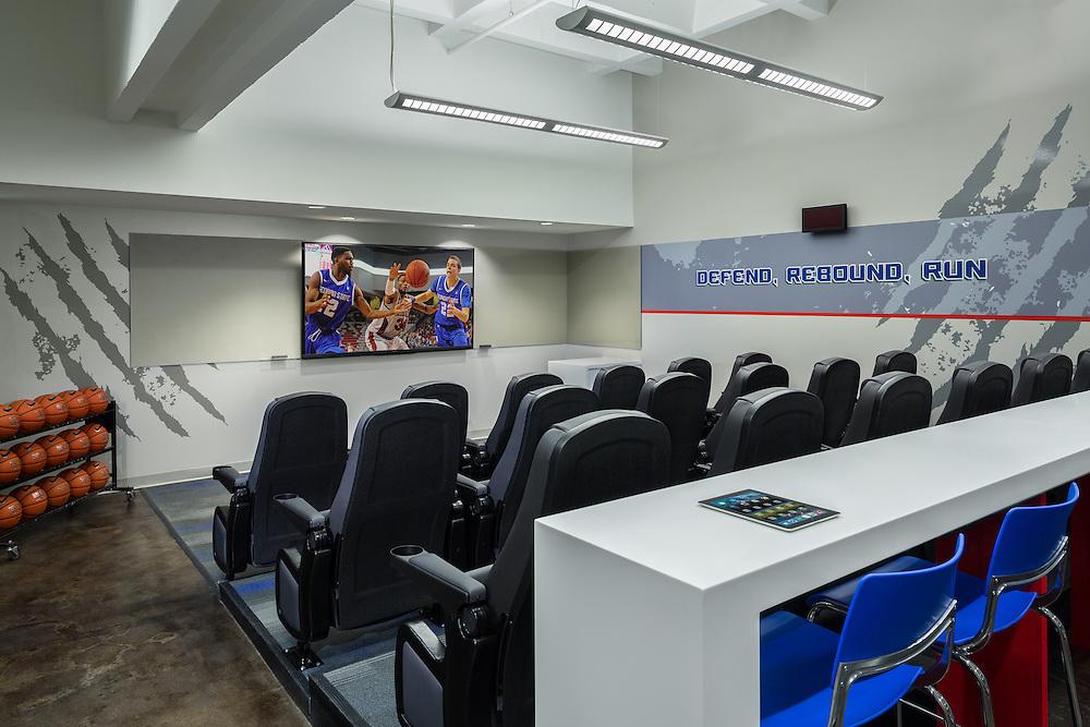 Georgia State Basketball Locker Room 03 - Atlanta, GA