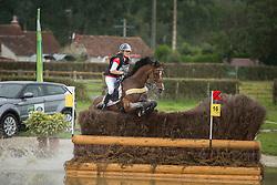 Lara De Liedekerke, (BEL), Ducati van den Overdam - Eventing Cross Country test- Alltech FEI World Equestrian Games™ 2014 - Normandy, France.<br /> © Hippo Foto Team - Dirk Caremans<br /> 30/08/14