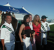 Neil Hirsh & Family.Polo Mercedes Benz BridgeHampton To Benefit.Leary Foundation.Hosted By Elizabeth hurley & Dennis Leary.BridgeHampton, New York.July 15, 2001.Photo By Antoine Desert/ CelebrityVibe.com..