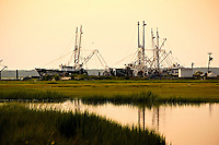 Commercial fishing boats in Cape May, NJ sit idle, not what the owners or crew want.