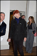 SIR BOB GELDOF; JEANNE MARINE, Chris Stein / Negative: Me, Blondie, and The Advent of Chris Stein / Negative: Me, Blondie, and The Advent of Punk - private view, Somerset House, the Strand. London. 5 November 2014.