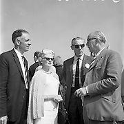 20/08/1967<br /> 08/20/1967<br /> 20 August 1967<br /> Irish Dunlop £1,000 Tournament at Tramore Golf Club, Pictured at the event were (l-r): Mr. John Kelly, Captain, I.P.G.A.; Mrs E.J. Power; Mr. E.J. Power, General Manager, Irish Dunlop Co. Ltd. and Mr. Harry Law, Chairman Northern Branch, I.P.G.A.