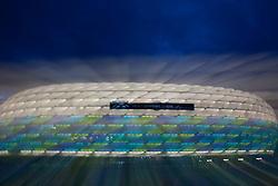 18-05-2012 VOETBAL: CL FINAL IN ALLIANZ ARENA MUNICH: MUNCHEN<br /> Allianz Arena klaar voor de finle tussen Bayern Munchen - Chelsea<br /> ©2012-FotoHoogendoorn.nl/nph-Gunn