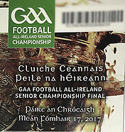 17th September All Ireland Football Final 2017