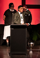 AHU21 - Young Maori Farmer -  Quinn Morgan was announced as the winner at a gala dinner in New Plymouth, Taranaki. 14 May 2021<br /> <br /> Ahuwhenua Trophy Excellence in Māori Farming Award 2021 for Dairy. February 2021. Photo by alphapix.nz<br /> <br /> CONDITIONS of USE:<br /> <br /> FREE for editorial use in direct relation the Ahuwhenua Trophy competition. ie. not to be used for general stories about the finalist or farming.<br /> <br /> NO archiving of images. NO commercial use. <br /> Please contact John@alphapix.co.nz if you have any questions