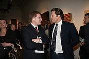 PETER CHARRINGTON AND ARPAD BUSSON, Spear's Wealth Management High-Net-Worth Awards. Sotheby's. 10 July 2007.  -DO NOT ARCHIVE-© Copyright Photograph by Dafydd Jones. 248 Clapham Rd. London SW9 0PZ. Tel 0207 820 0771. www.dafjones.com.