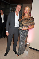 SEBASTIAN & CLARE VAN DAM at a private view of 'Valentino: Master Of Couture' at Somerset House, London on 28th November 2012.