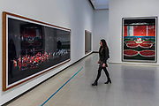 F1 Pitstop I and Pyonyang VII - Andreas Gursky a new exhibiition. The Hayward Gallery reopens on the Southbank after a major refurbishment.
