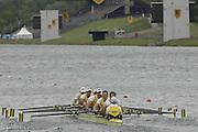 Munich, GERMANY, 2006, FISA, Rowing, World Cup, AUS M8+ bow, Stefan Szcurowski, 2. James Chapman, 3. Hardy Cubasch, 4. James Marburg, 5, Tom Laurich, 6. Karsten Fosterliing, 7. Cameron McKenzie, Stroke Jeremy Stevenson and cox Marty Rabjohn. held on the Olympic Regatta Course, Munich, Thurs. 25.05.2006. © Peter Spurrier/Intersport-images.com,  / Mobile +44 [0] 7973 819 551 / email images@intersport-images.com.[Mandatory Credit, Peter Spurier/ Intersport Images] Rowing Course, Olympic Regatta Rowing Course, Munich, GERMANY