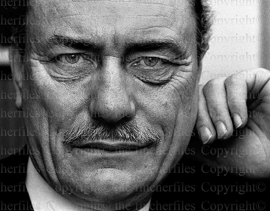 British MP Enoch Powell. Photographed by Terry Fincher