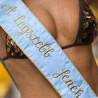 Winner of the Most beautiful butt prize of the Miss Bikini beauty contest held near lake Balaton.