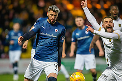 Raith Rovers Iain Davidson after his handballl for Livingston's first penalty. Livingston 3 v 1 Raith Rovers, William Hill Scottish Cup played 18/1/2020 at the Livingston home ground, Tony Macaroni Arena.