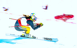 Elena Sandulli (ITA) during giant slalom race at FIS European Cup Krvavec 2021, February 2, 2021 in Krvavec, Cerklje na Gorenjskem, Slovenia. Photo by Matic Klansek Velej / Sportida